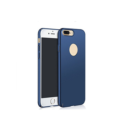 Rubber oil plastic hard case for iphone 7 plus
