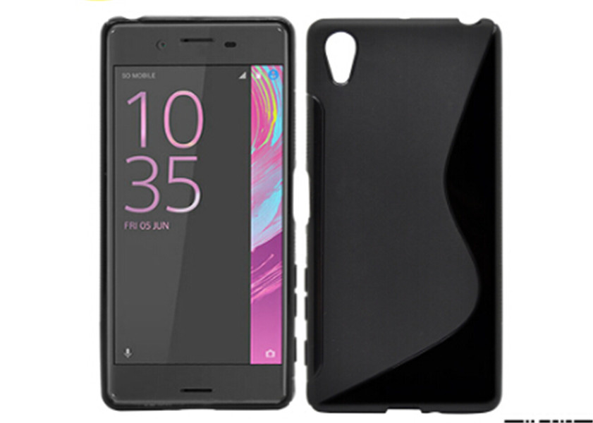 Matte S Line TPU Gel Case for Sony Xperia X