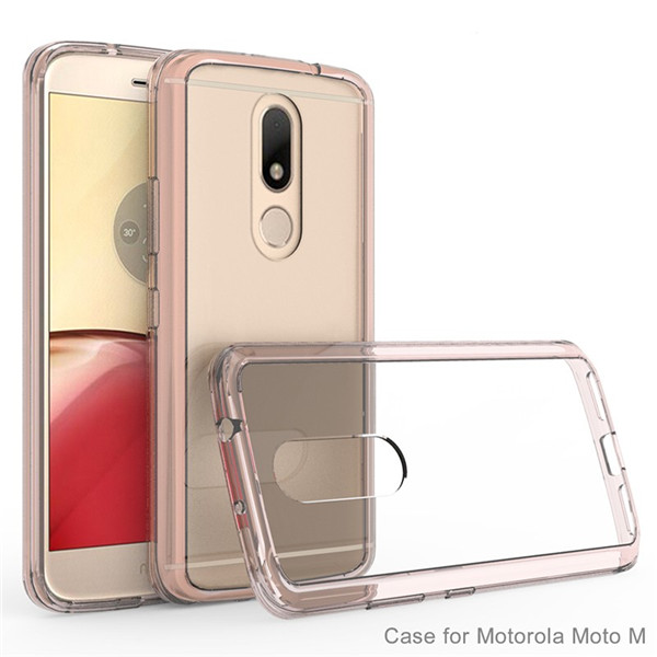 Moto M  PU+tpu Mobile Phone back cover Case