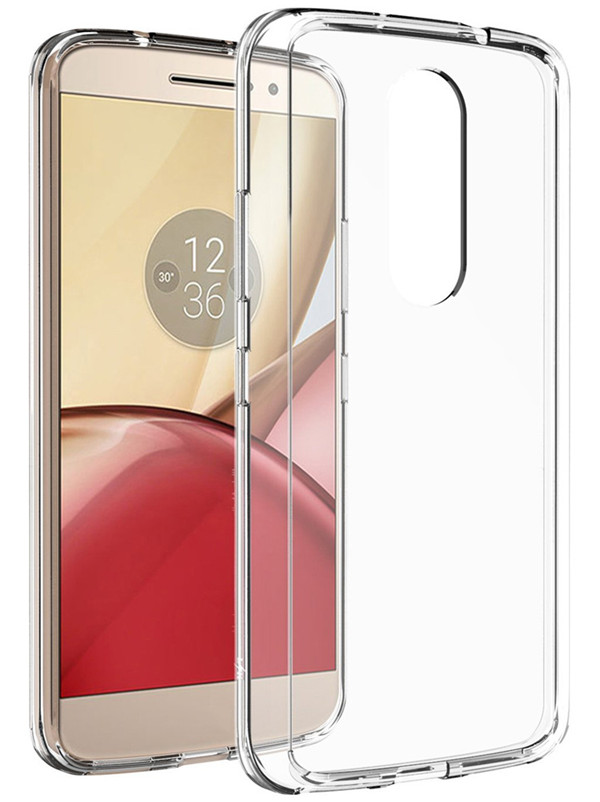 Motorola Moto M transparent tpu phone Case