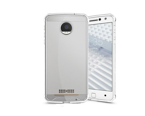 Motorola Moto Z Force tpu transparent phone case