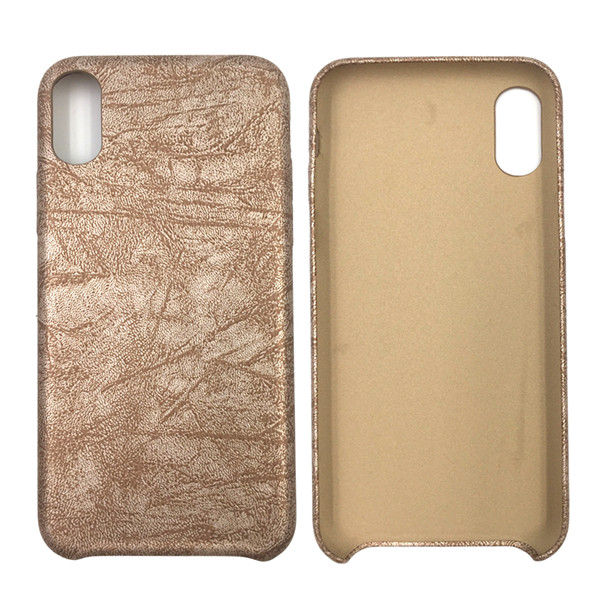 PU leather Skin cell phone case for iphone 8
