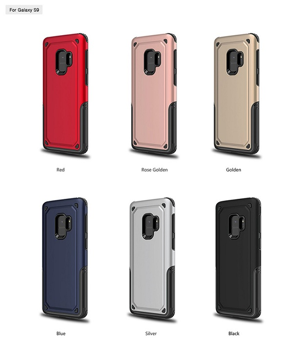 Armor TPU+PC shock proof cover for case Samsung Galaxy S9
