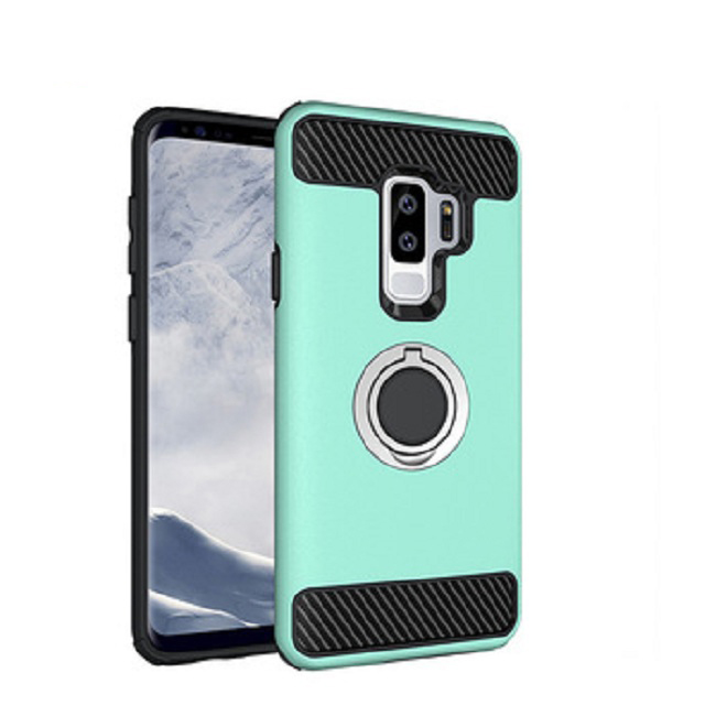 2 in1 Shockproof cover with a ring holder case for Samsung Galaxy S9 plus