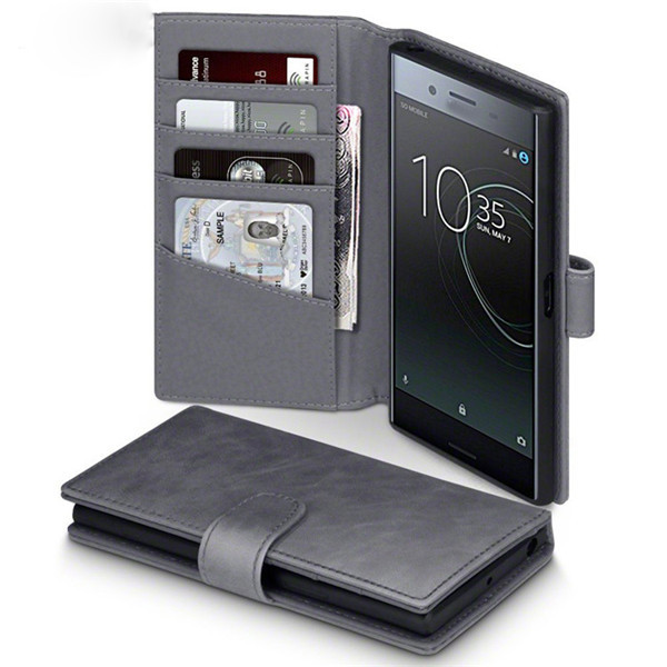 Sony Xperia Xz Premium PU Leather Flip Cover