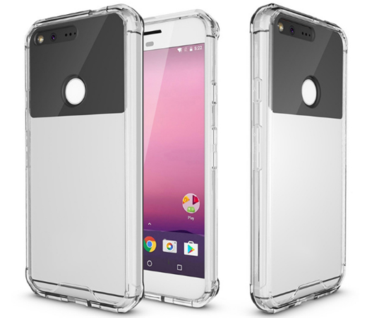 TPU PC Bumper cases for Google Pixel