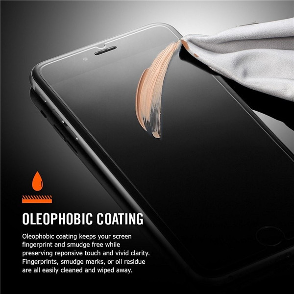 0.3mm 2.5D 9H corning glass screen for iphone 6 plus