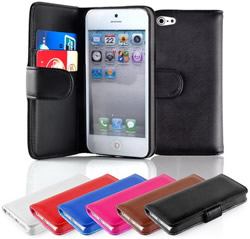 iPhone 5 Wallet Leather Case