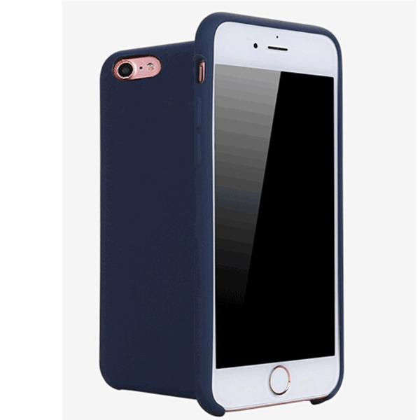 Liquid Silicone Mobile Phone Case Cover For iPhone 8
