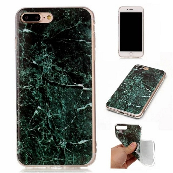 Printed marble case TPU gel cover for iphone 7 plus